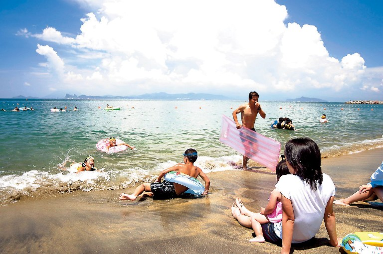 ゴールドビーチ大浜海水浴場